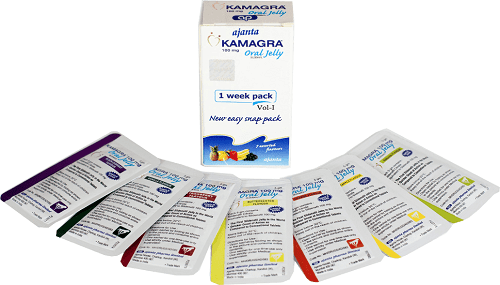 ויאגרה קמאגרה ג'לי VIAGRA KAMAGRA JELLY 5g /100mg
